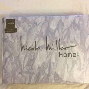 Nicole Miller Queen Sheet Set